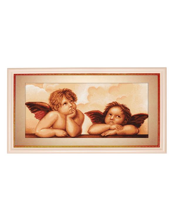 Broderikit Tavla Drömmande änglar