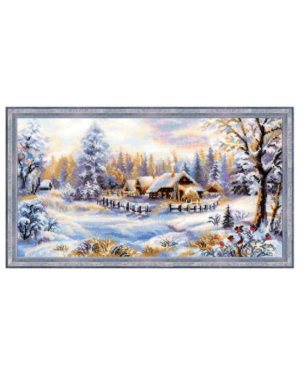 Bilde Vakker vinterkveld