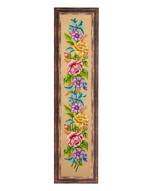 Stramin Blumen mit oder ohne Garn