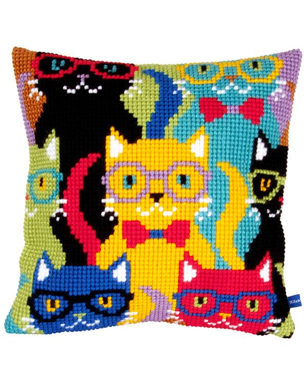 Tyynynpäällinen Kirjavat katit