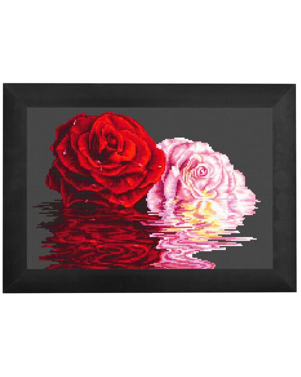 Broderipakke Bilde Kjærlighetens blomst