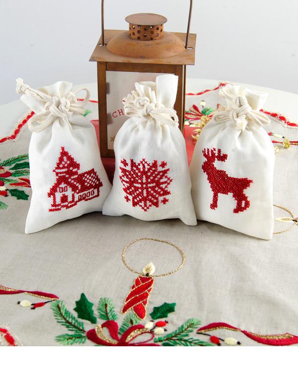 Doftpåsar Julmotiv 3-pack