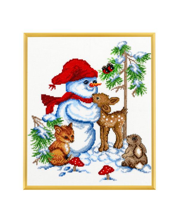 Taulu Lumiukon ystävät