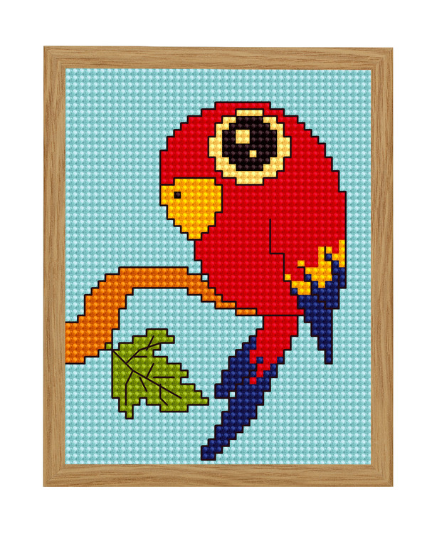 Bilde Flott rød ara