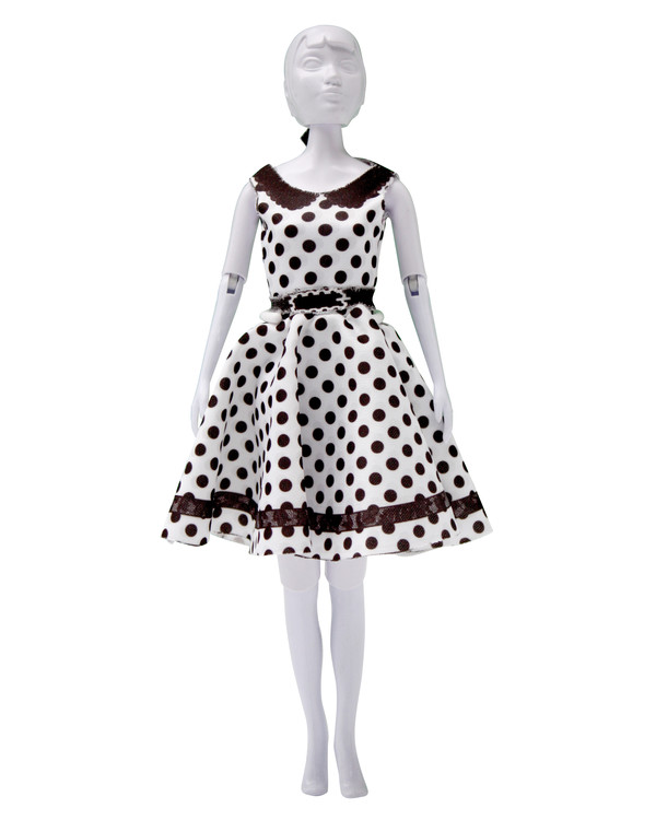 Dress your doll Outfit Peggy dots