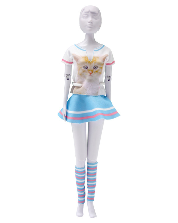 Dress your doll Outfit Tiny cat