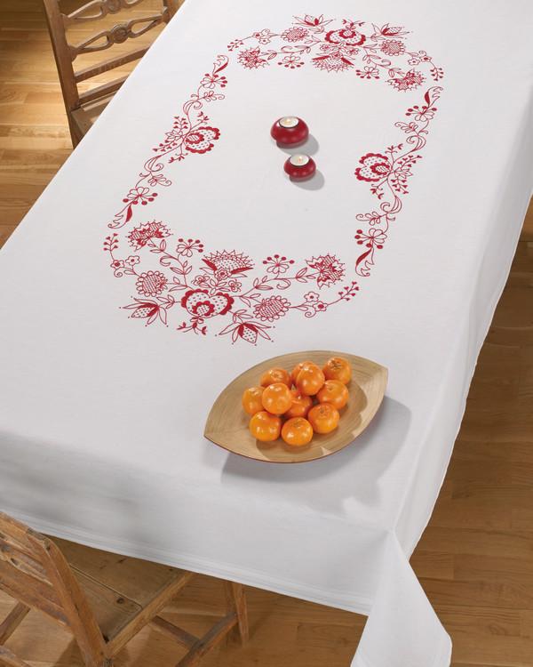 Middagsduk Husflid med eller uten garn
