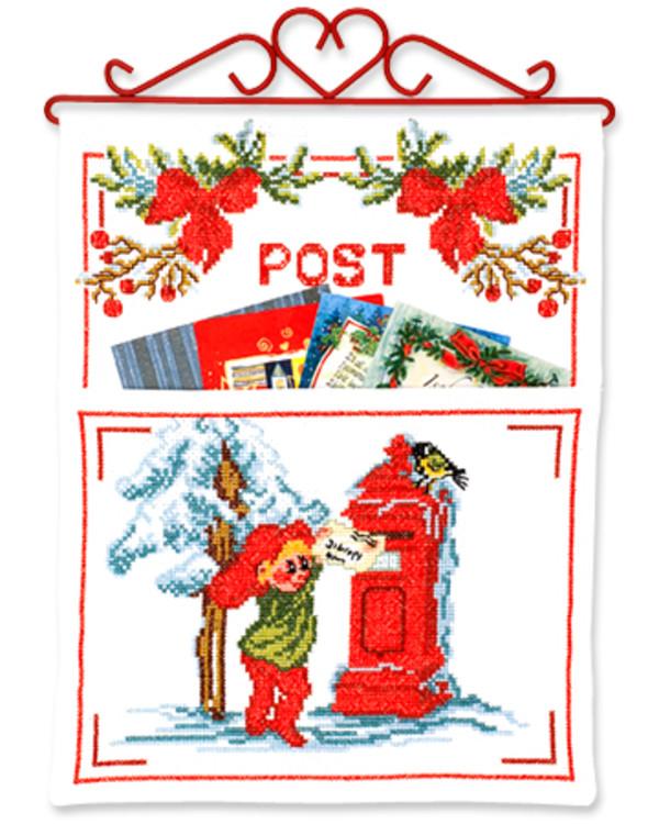Julepost Postkasse