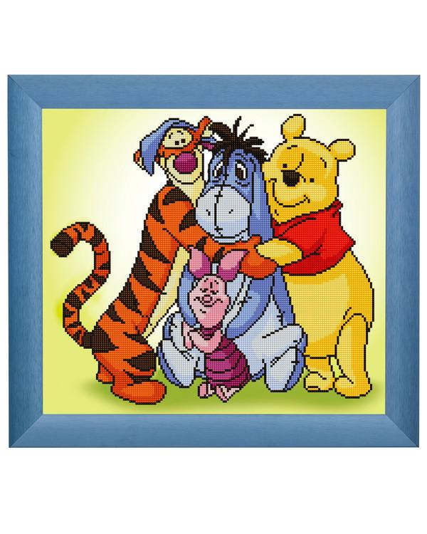 Diamond Painting Winnie Puuh und seine Freunde