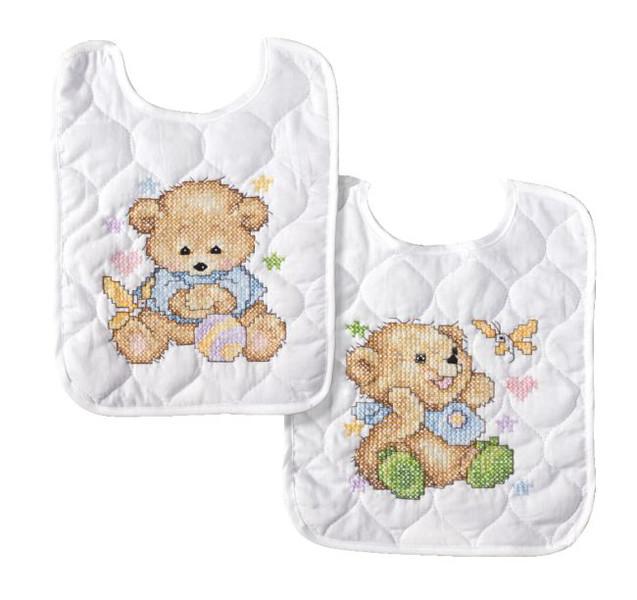 Lätzchen Bärenjunge 2-er Pack