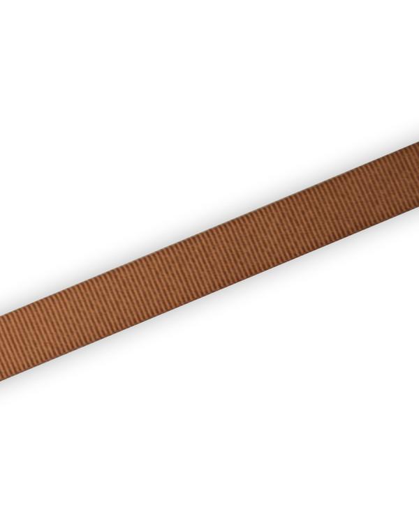Grosgrainbånd Brun 15mm