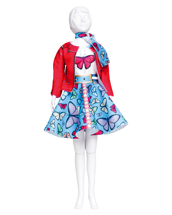 Dress your doll Lucy Butterfly