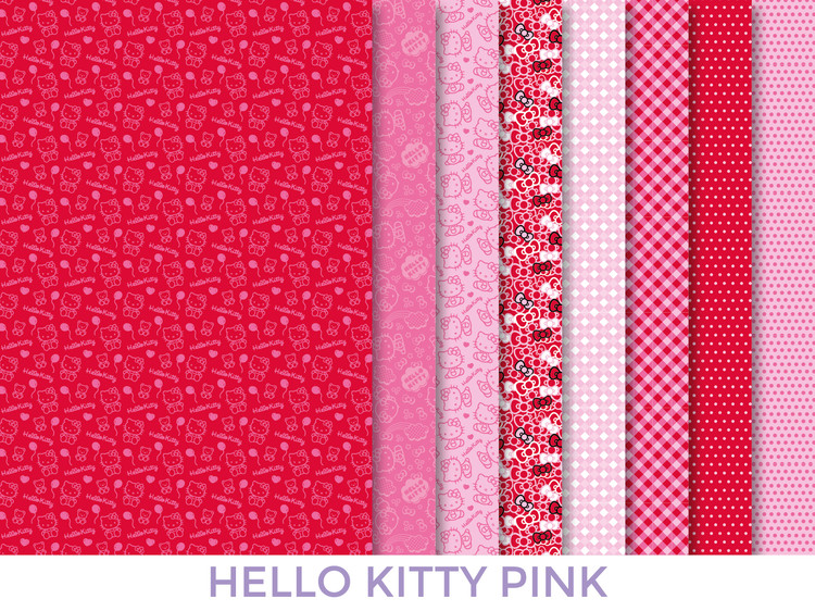 Dress your doll Tygset Hello kitty pink