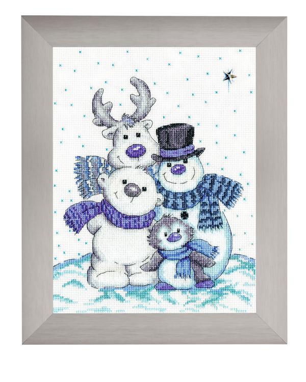 Bilde Snømannfamilien