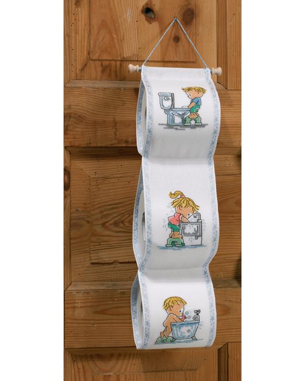 WC-paperiteline Lapset