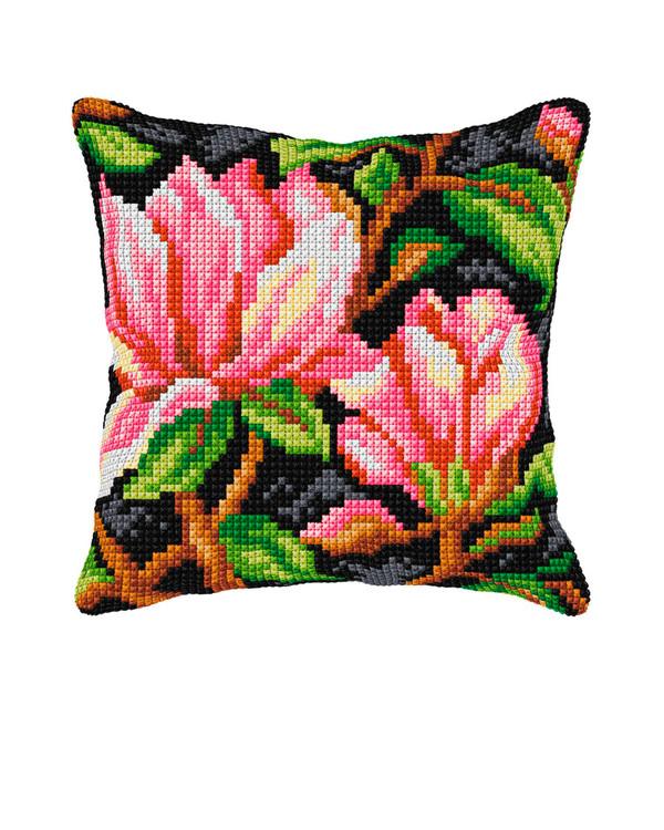 Tyynynpäällinen Roosat kukat