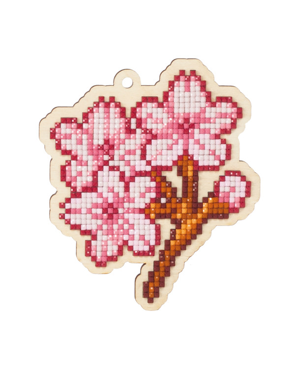 Diamond Painting Kirschblüten