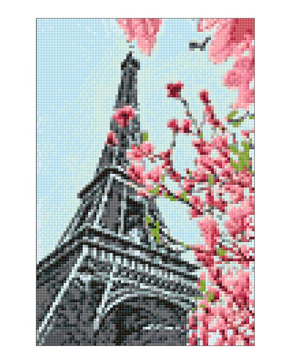 Diamond painting Pariisi