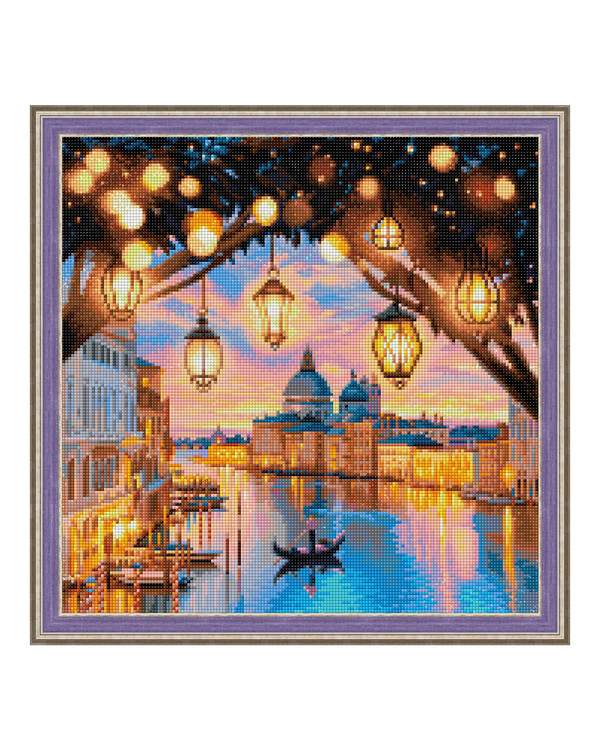 Diamond painting Kveld i Venezia