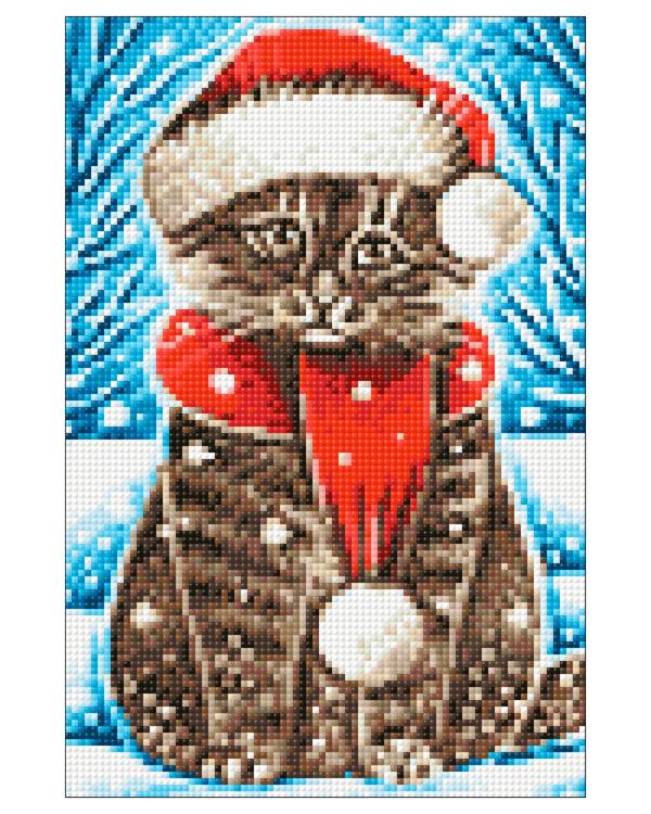 Diamond painting Katt