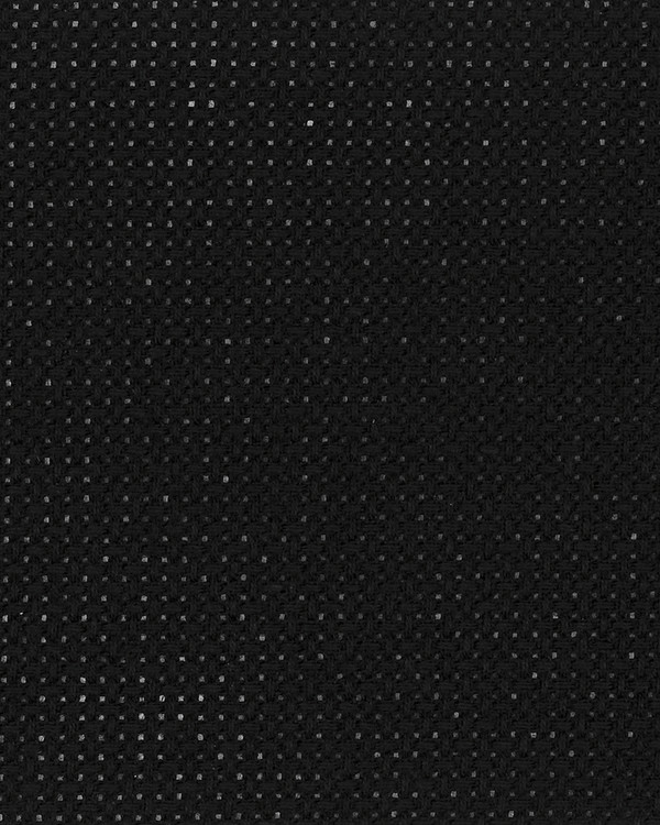Stof Aida sort 5,4 kvadr.pr.cm 38x38 cm