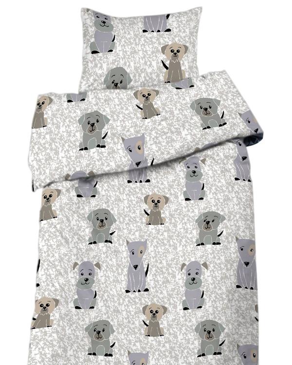 Sengetøysett Hunder 2 deler