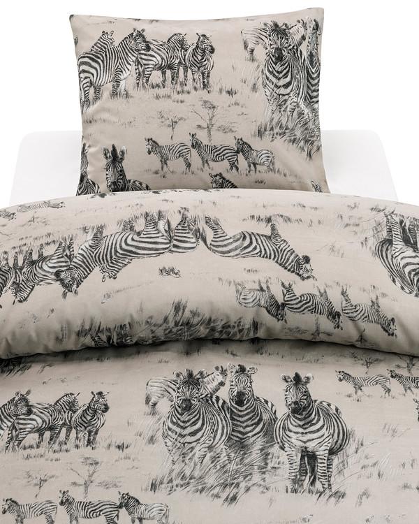 Sengetøysett Zebra Life 2 deler