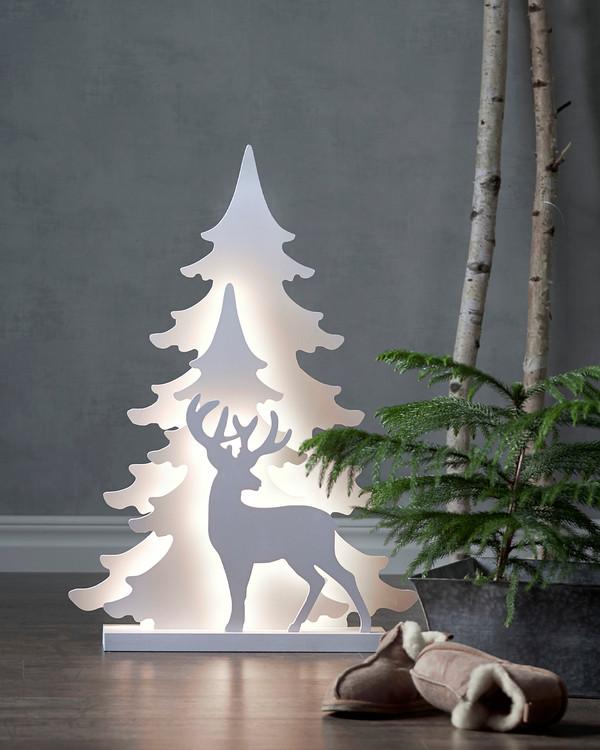 Jule-deko Hjort 70 cm