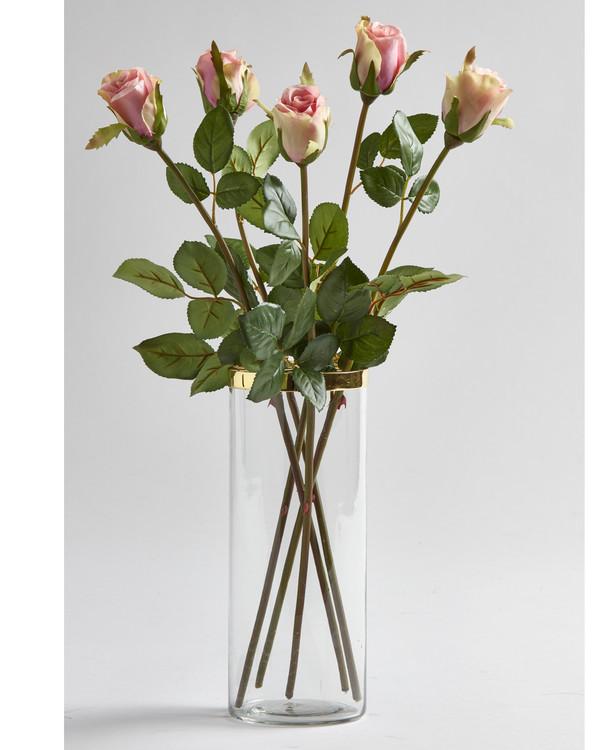 Kunstige Roser 5-pak
