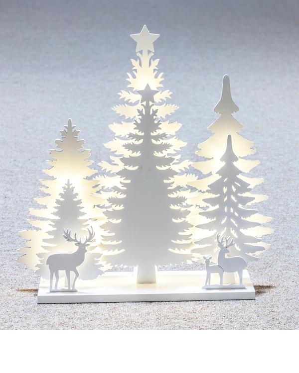 El-lysestage Træsnit