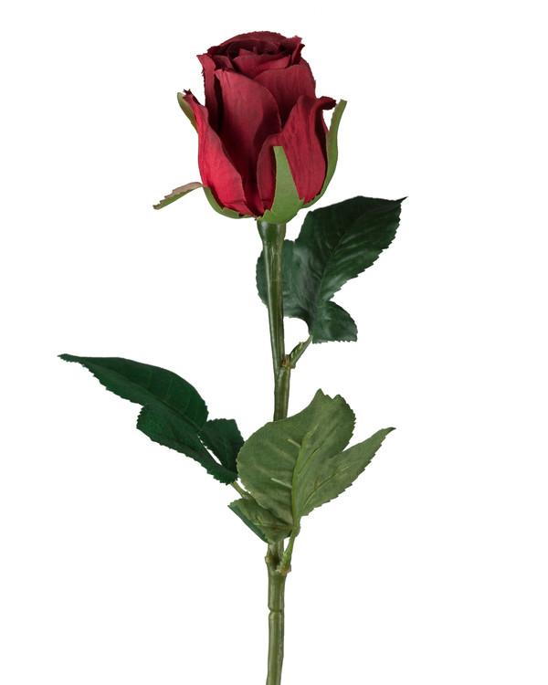 Kunstige Roser rød 3-pak