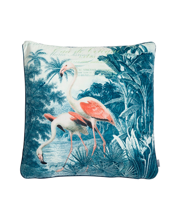 Kuddfodral Flamingo 60x60cm