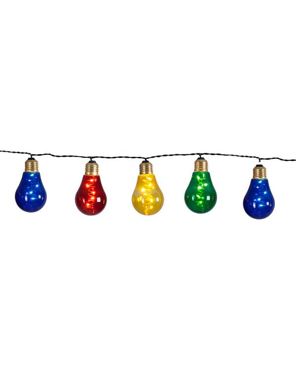 Lyskæde Glow multi