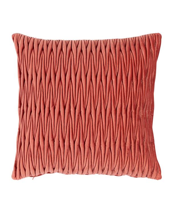Tyynynpäällinen Lush tummanpunainen