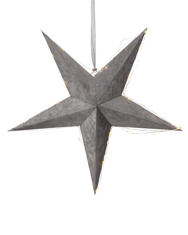 Star Trading Julstjärna Sammet Ø 60 cm