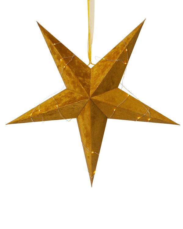 Papirstjerne Fløyel