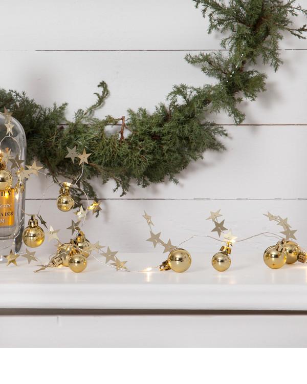 Valoköynnös Christmas kulta