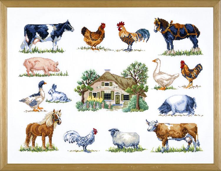 Bild Bauernhof